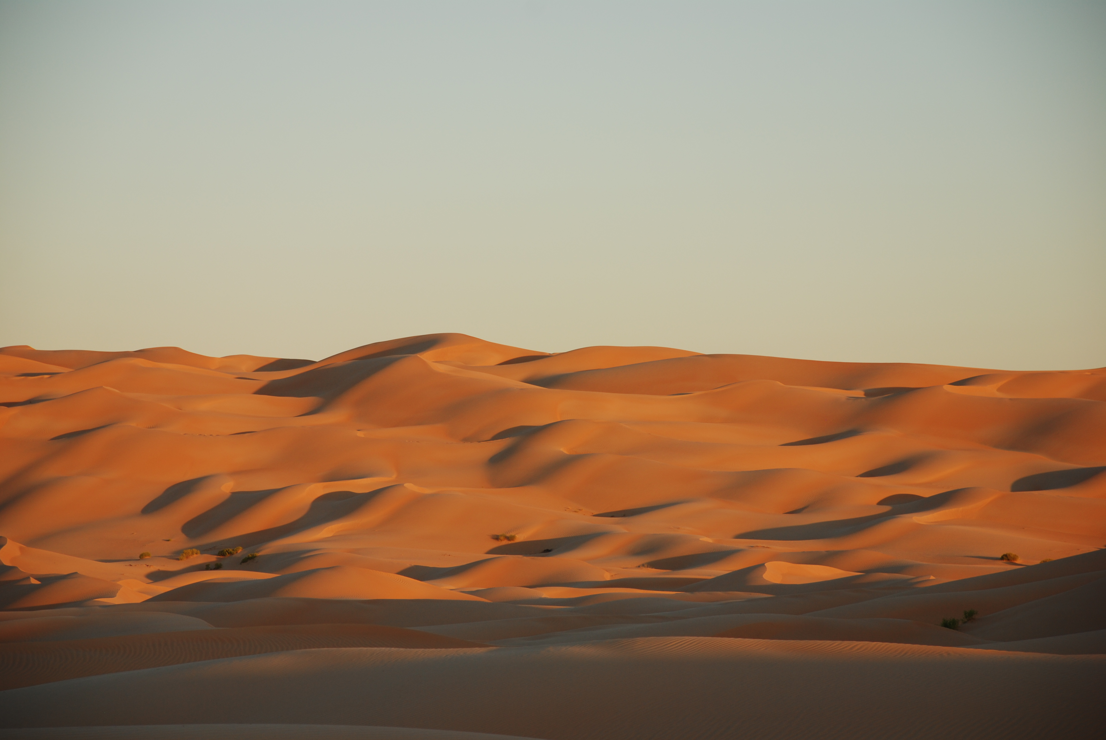 Star dunes Oman